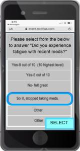 Mobile Survey Message