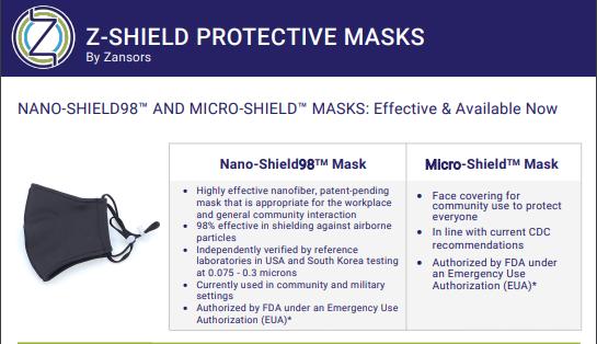 Z-Shield Protective Masks